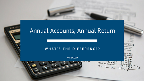 What Is The Difference Between An Annual Return And An Annual Account?